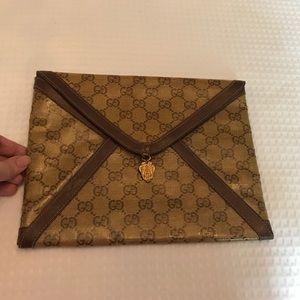 Vintage Gucci Envelope Clutch